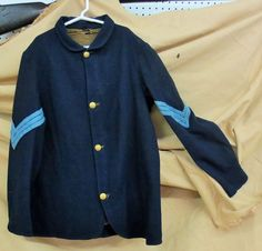 Original union sack coat Although these are clearly the most common of all Union uniforms, they have the LOWEST survival rate as they were just plain worn out after the Civil War ended. Valued at $27,500.