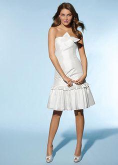 knee length wedding dresses for bridal