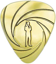 """myLife Hard Luxury """"Round Tip"""" Guitar Pick Made of Genuine Solid Brass {Yellow Gold Colored """"James Bond"""" - Perfect for Creating Dynamic Tones on Any Type of Acoustic or Electric Guitar} [Single Pack] myLife Brand Products http://www.amazon.com/dp/B00VXL4DSK/ref=cm_sw_r_pi_dp_ZNdmvb0F170VG"""