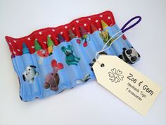 Crayon Roll by ZoeandGem on Etsy International Shipping