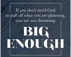 Are you dreaming big enough?? #crownedfree