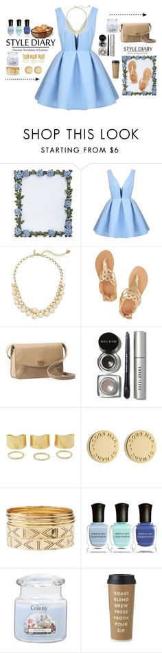 """""""Untitled #243"""" by amal123456871 ❤ liked on Polyvore featuring Lane Crawford, Kate Spade, Ancient Greek Sandals, UGG Australia, Bobbi Brown Cosmetics, Marc by Marc Jacobs, Charlotte Russe, Deborah Lippmann and Mikasa"""