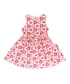 Take a look at this Pink Pop Flower Dress - Infant, Toddler & Kids by Toby Tiger on #zulily today!