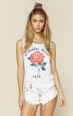 4e67cada9e2fc Chaser New Bohemian Clothes Grateful Dead Muscle Tee Fashion Now