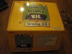 Amazon.com: Geometry Activity Kit, Grades 2-3: Toys & Games
