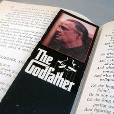 The Godfather Unique Bookmark by StalkingMarla on Etsy