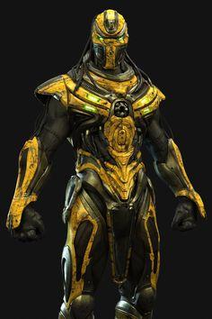 Cyrax from Mortal Kombat By UltraVD
