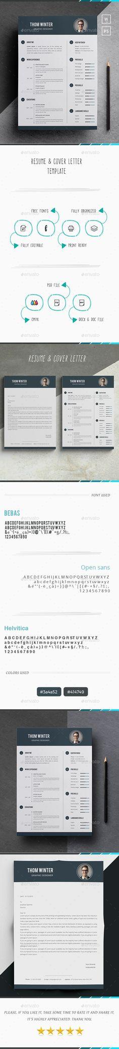 Free Resume Template by Pixeden Design Popular