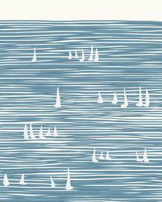 Sailboats by Jorey Hurley | Artfully Walls