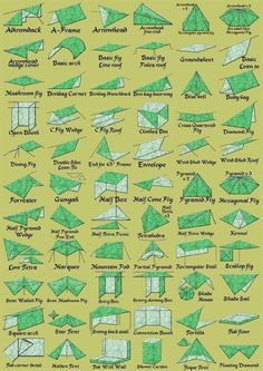 100 ways to use a tarp for temporary shelter