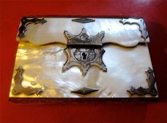 Vintage Mother of Pearl Mini Purse or Case. $165