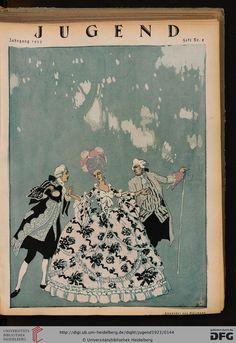 Jugend: Münchner illustrierte Wochenschrift für Kunst und Leben (1923 (Nr. 1-24))