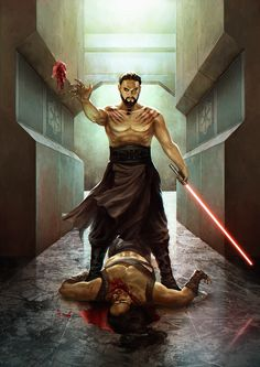 Khal-Drogo crosses over to the dark side in this epic digital piece from JB Casacop.
