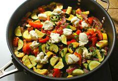 Vegetarian diets: Zucchini tomato goulash