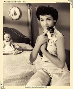 Annette and a cute kitten
