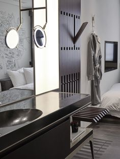 New Bath Room Hotel Design Guest Rooms Ideas Hotel Strasbourg, Modern Hotel Lobby, Hotel Room Design, Koh Chang, Hotel Decor, Home Decor Furniture, Plywood Furniture, Modern Furniture, Furniture Design