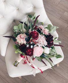 August Wedding Flowers, Dahlia Wedding Bouquets, Christmas Wedding Flowers, Dahlia Bouquet, Blush Bouquet, Blush Wedding Flowers, Bridal Flowers, Wedding Colors, Wedding Ideas