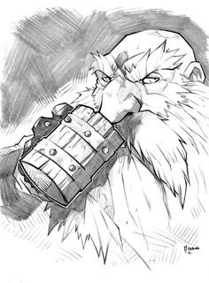 I like the classic GW big nose dwarf style Dnd Characters, Fantasy Characters, Dungeons And Dragons, Character Inspiration, Character Art, Dnd Dwarf, Vikings, Goblin Art, Fantasy Dwarf