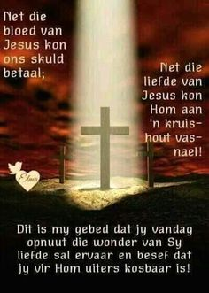 Discover recipes, home ideas, style inspiration and other ideas to try. Prayer Quotes, Faith Quotes, Bible Quotes, Bible Verses, Godly Quotes, Scriptures, Uplifting Christian Quotes, Evening Greetings, Afrikaanse Quotes