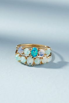 Slide View: 4: Mermaid Ring Set