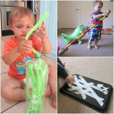 Independent play time for toddlers