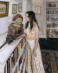 Dialogue ~ Carel Victor Morlais Weight Oil on canvas, 127 x 100 cm ~ Brighton and Hove Museums and Art Galleries Digital Museum, Royal College Of Art, Soul Art, Collaborative Art, Art Uk, Your Paintings, Portrait Paintings, Figurative Art, Body Painting