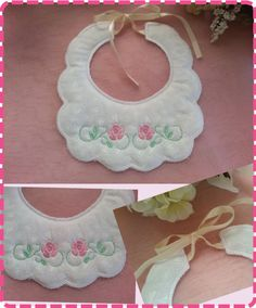 For the , and hoops Brother Embroidery, Embroidery Applique, Machine Embroidery, Embroidery Designs, Bib Pattern, Baby Bibs, Crochet Necklace, Sewing, Gifts