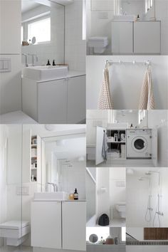 Smart use of space in the bathroom