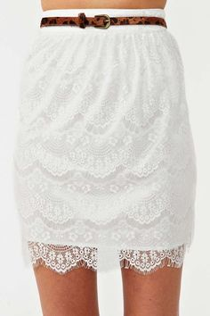 Daydream Lace Skirt   Shop Clothes at Nasty Gal