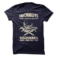 Machinist T-Shirts, Hoodies. VIEW DETAIL ==► Funny Tee Shirts