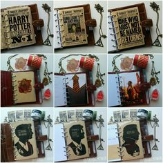 FAVtastic: Planner meets Potter 2.0 Deco Harry Potter, Classe Harry Potter, Harry Potter Thema, Harry Potter World, Scrapbooking Harry Potter, Bullet Journal Planner, Styles Harry, Harry Potter Planner, Filofax Malden