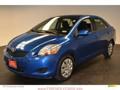 awesome toyota yaris 2013 sedan blue car images hd 2010 Blue Streak Metallic Toyota Yaris Sedan  62758078 GTCarLot