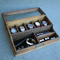 Watch Box Watch Case Men's Watch Box Watch Box for Men por dferichs