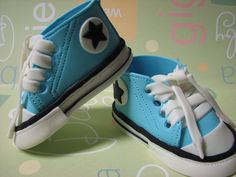 Gumpaste Baby Shoes