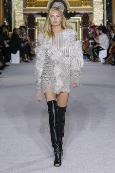 Balmain Spring 2018 Ready-to-Wear Collection Photos - Vogue