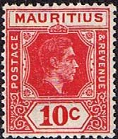 Mauritius Stamps 1938 King George VI Fine Used SG 256 Scott 215 Other Mutitius Stamps HERE
