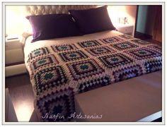 Pie de cama o mantas - Crochet - Tejidos de Punto - 395030