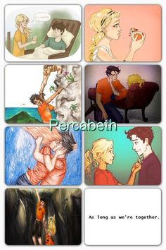 The Percabeth Story: wait five years/books for them to get together.  Hera separates them for a year. They find each other and fall down to Tartarus.. ITS NOT FAIR