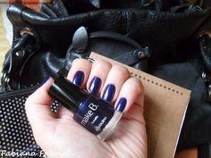 London Night Blue - eu quero esse esmalte! Mãos da Fabiana fabrin