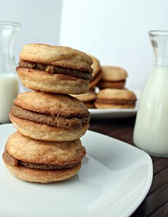 Snickerdoodle-Cookie Butter Sandwich's