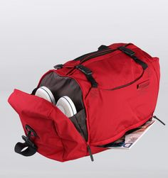 Mandarina Duck Isi Weekend Duffle - Red - Rushfaster.com.au Australia