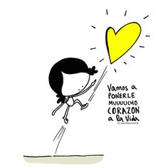 ¡¡Vamos a ponerle (mucho) corazón a la Vida! Que… ¿vamos? :: bizitza bihozbetez bizi… to live a wholehearted Life ::: Positive Quotes, Motivational Quotes, Inspirational Quotes, Quotes En Espanol, Love Others, Spanish Quotes, Some Words, Amazing Quotes, How To Memorize Things
