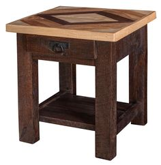 Add American made Amish Furniture to your home! Shop a large selection of solid wood Amish Furniture and buy at A+ Rated DutchCrafters with down! Wood Pallet Furniture, Amish Furniture, Handmade Furniture, Furniture Projects, Wood Projects, Diy Furniture, Italian Furniture, Pallet End Tables, Wood End Tables