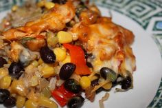 Mexican Chicken Cheese and Rice Bake - http://www.cheesecutterscorner.com/mexican-chicken-cheese-and-rice-bake/