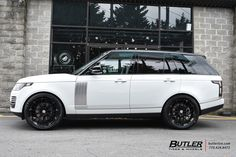 Land Rover Range Rover with HRE Wheels exclusively from Butler Tires and Wheels in Atlanta, GA - Image Number 11006 Range Rover 2014, Range Rovers, Range Rover Sport, Best Luxury Cars, Luxury Suv, Range Rover Supercharged, Best Suv, Lux Cars, Ford Mustang Fastback