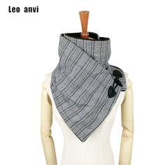 Leo anvi plaid Poule laine d hiver femmes hommes écharpe de mode col châle  wrap e677579aafe