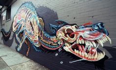 An odd work of streetart in the Haight-Ashbury district of San Francisco. #sanfrancisco #streetart #urbanart