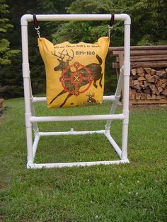 PVC Bag Target Stand for Under $25