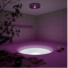 Purple Bathrooms, Purple Rooms, Dream Bathrooms, Purple Love, Shades Of Purple, Purple Things, Purple Rain, Purple Stuff, 50 Shades