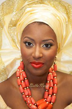 BellaNaija Bride Antonia   Antonia & Stanley's London Wedding   Make Up by YeyeParis MakeUp   Igbo Traditional Wedding   Remi Benson & FDAN Photography